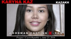 Watch Karyna Kaz first XXX video. Pierre Woodman undress Karyna Kaz, a Kazakh girl.