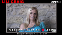 Watch Lili Craig first XXX video. Pierre Woodman undress Lili Craig, a Czech girl.