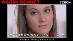 Watch Naomi Bennet first XXX video. Pierre Woodman undress Naomi Bennet, a Czech girl.