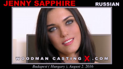 Download Jenny Saphhire casting video files. Pierre Woodman undress Jenny Saphhire, a Russian girl.