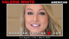 Download Valerie White casting video files. Pierre Woodman undress Valerie White, a American girl.