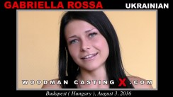Check out this video of Gabriella Rossa having an audition. Erotic meeting between Pierre Woodman and Gabriella Rossa, a Ukrainian girl.