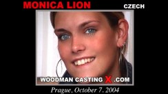 Access Monica Lion casting in streaming. Pierre Woodman undress Monica Lion, a Czech girl.
