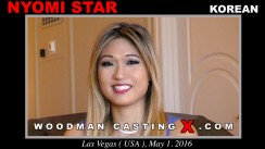 Watch Nyomi Star first XXX video. Pierre Woodman undress Nyomi Star, a Korean girl.