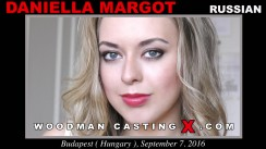 Download Daniella Margot casting video files. A Russian girl, Daniella Margot will have sex with Pierre Woodman.