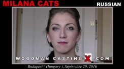 Check out this video of Milana Cats having an audition. Erotic meeting between Pierre Woodman and Milana Cats, a Russian girl.