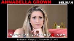 Check out this video of Annabella Crown having an audition. Erotic meeting between Pierre Woodman and Annabella Crown, a  girl.