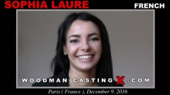 Access Sophia Laure casting in streaming. Pierre Woodman undress Sophia Laure, a French girl.