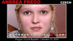 Access Andrea Prego casting in streaming. Pierre Woodman undress Andrea Prego, a Czech girl.