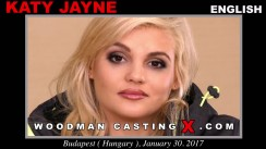 Watch Katy Jayne first XXX video. A English girl, Katy Jayne will have sex with Pierre Woodman.