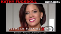 Look at Kathy Fuckdoll getting her porn audition. Erotic meeting between Pierre Woodman and Kathy Fuckdoll, a Hungarian girl.